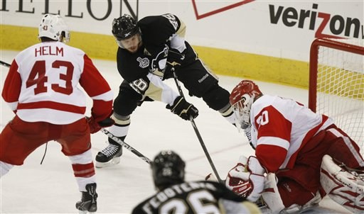 Stanley Cup Red Wings Penguins Hockey
