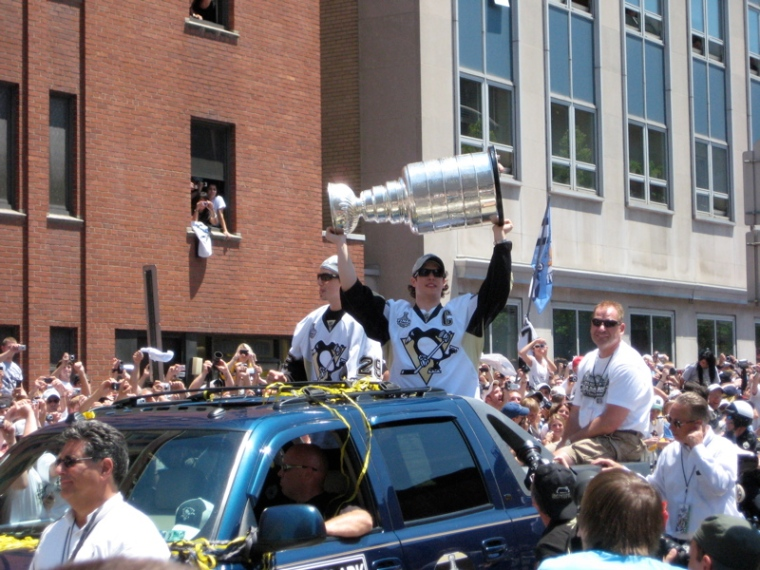 And this, my friends, is a beautiful thing. Uh, the cup, I mean.