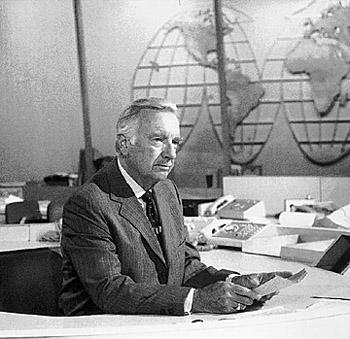 Walter Cronkite Desk